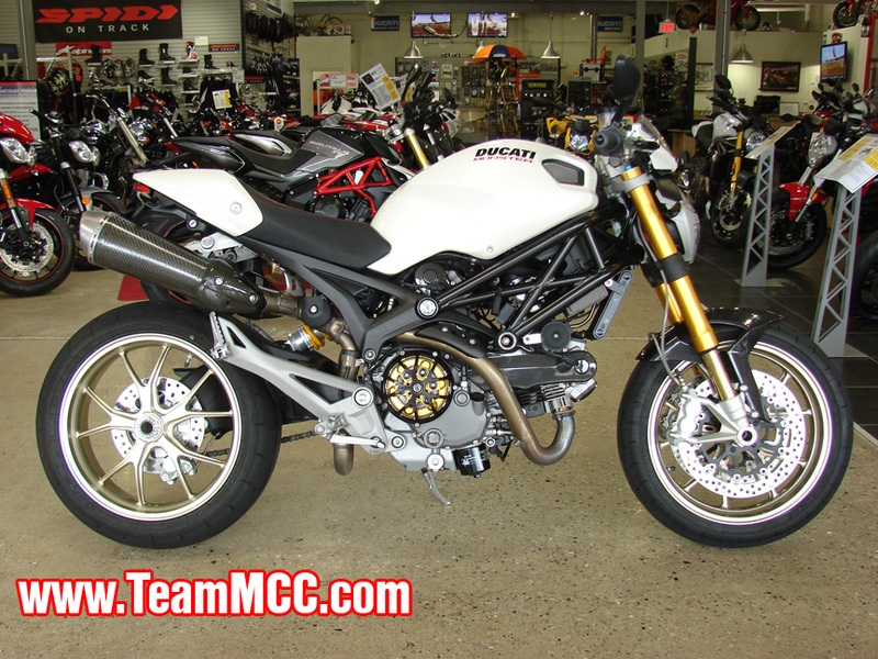 2009 Ducati Monster 1100 S, motorcycle listing