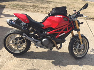 2009 Ducati Monster 1100S, motorcycle listing