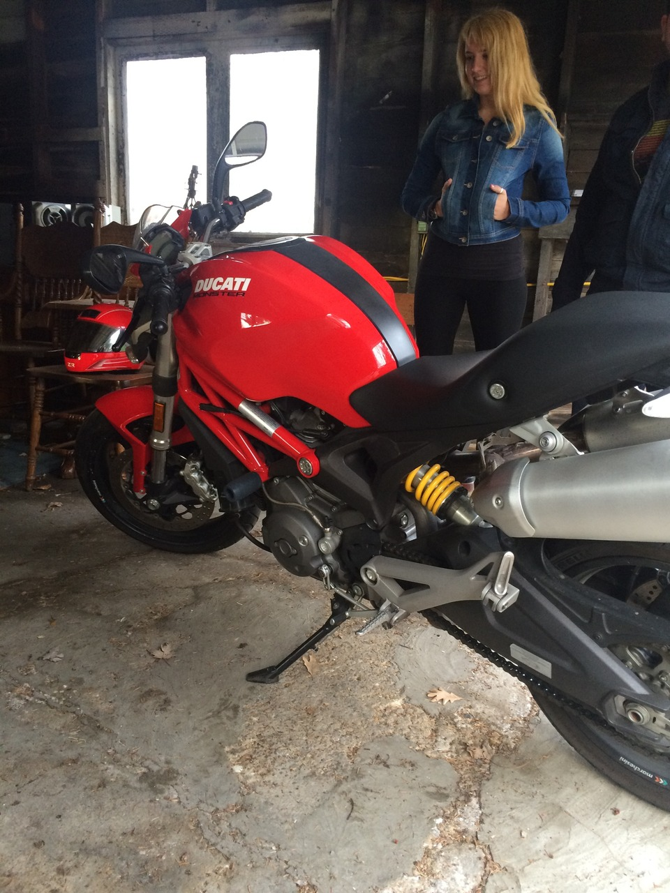 2009 Ducati Monster 696, motorcycle listing
