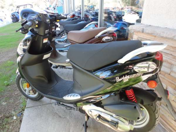 2009 Genuine Scooter Company Buddy (125 cc), motorcycle listing