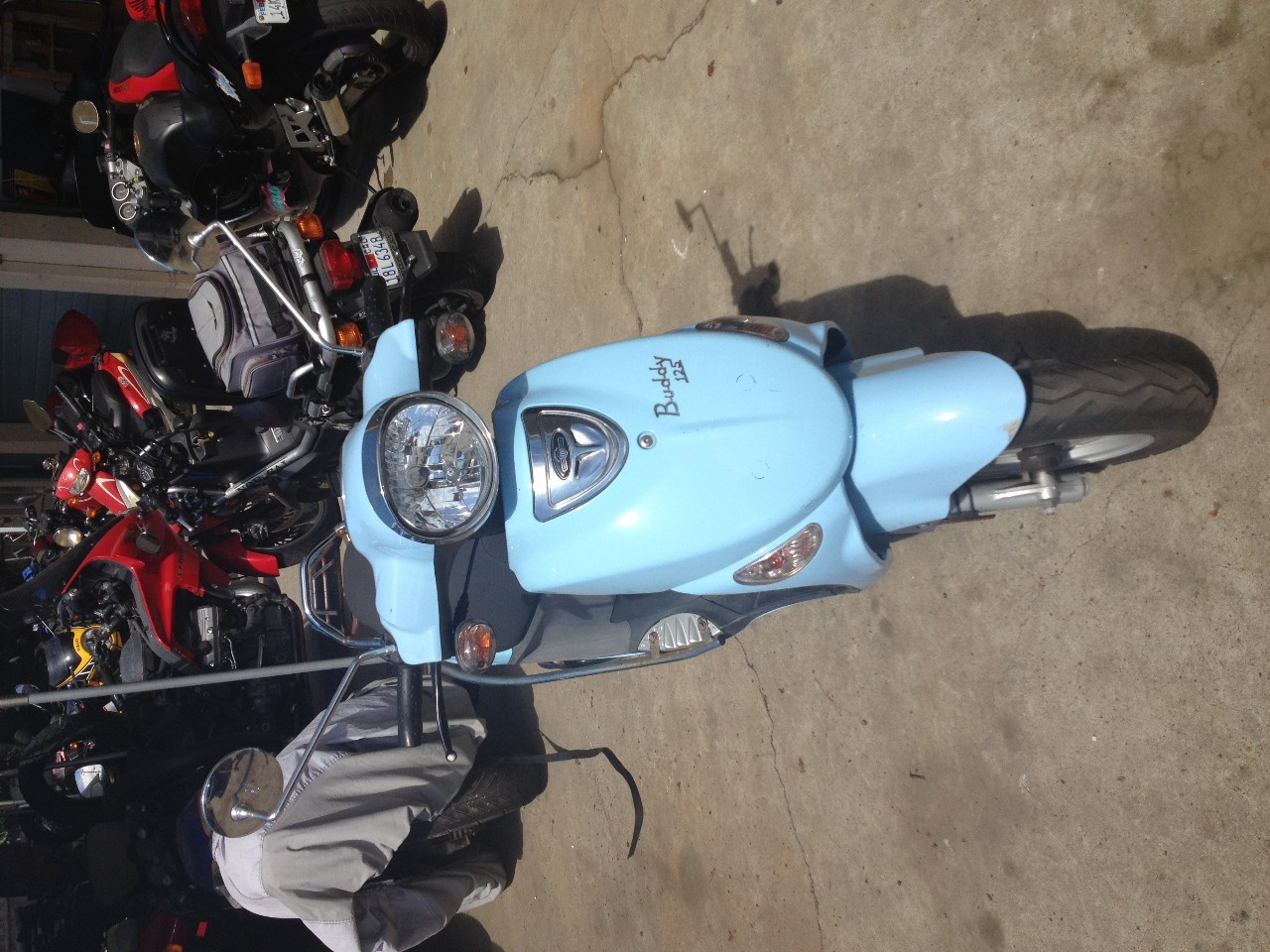 2009 Genuine Scooter Company Buddy 125, motorcycle listing