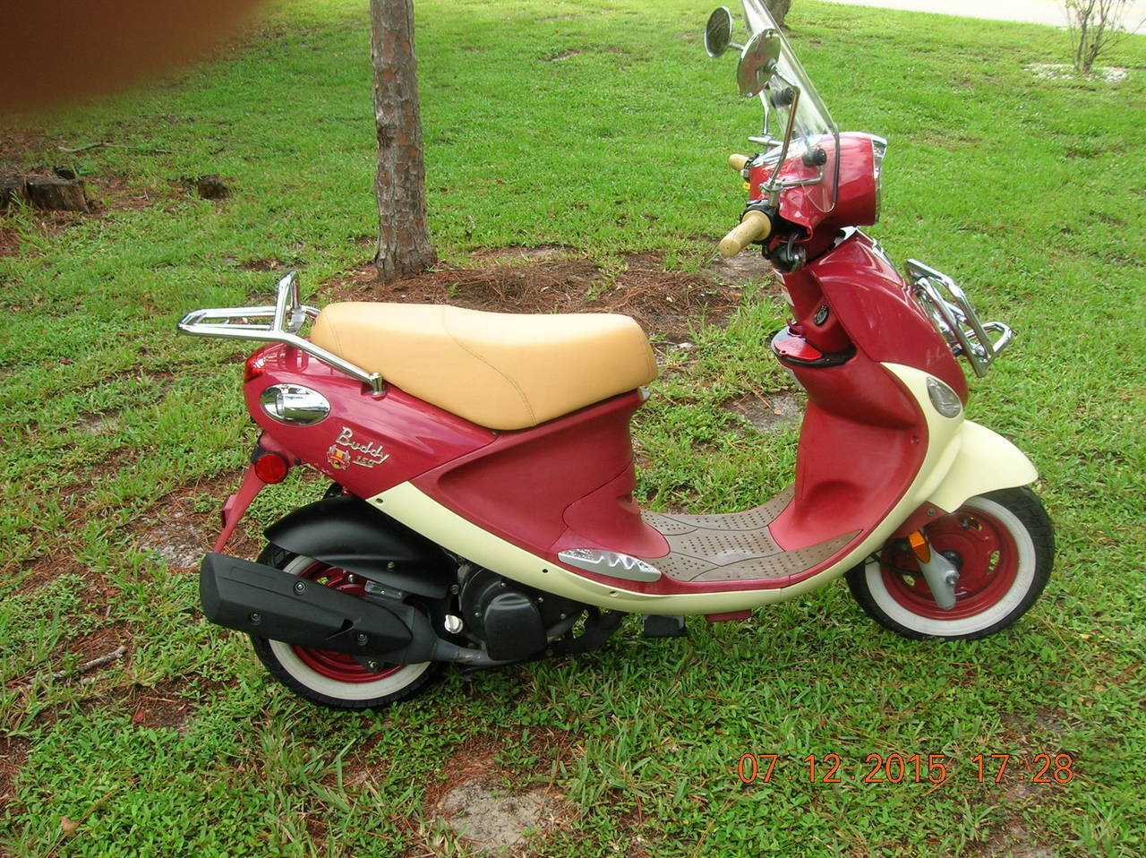 2009 Genuine Scooter Company Buddy INTERNATIONAL 50, motorcycle listing