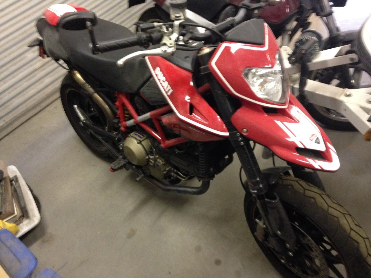 2010 Ducati Hypermotard 1100 EVO SP, motorcycle listing