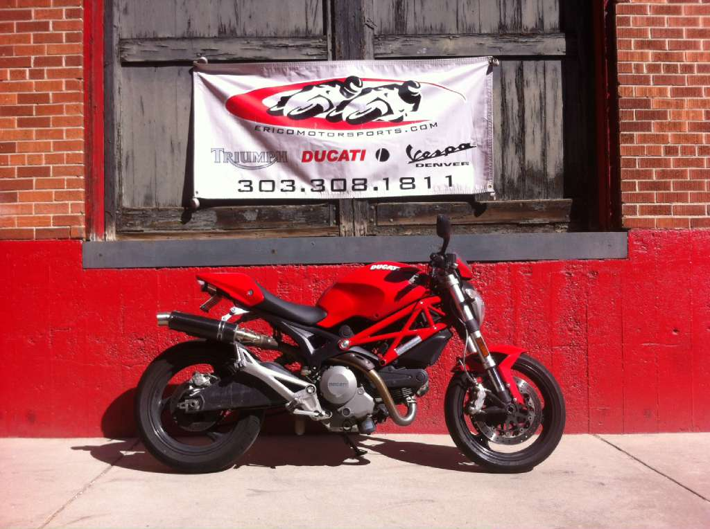 2010 Ducati Monster 696, motorcycle listing