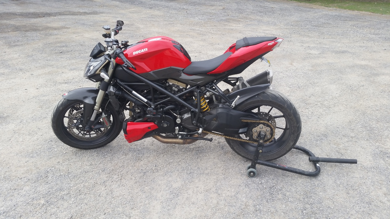 2010 Ducati Streetfighter 1098, motorcycle listing