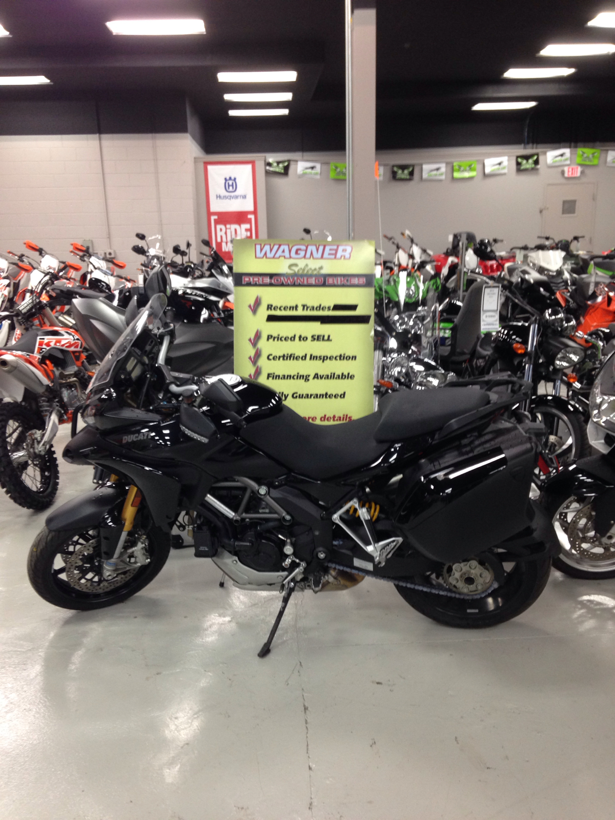 2011 Ducati MTS1200ST, motorcycle listing