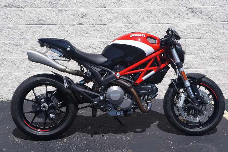 2011 Ducati Monster 796, motorcycle listing
