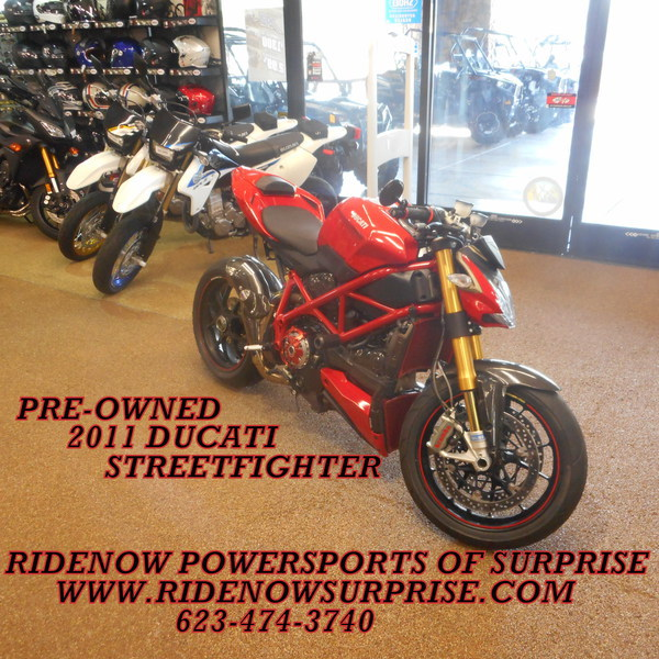 2011 Ducati Streetfighter S, motorcycle listing