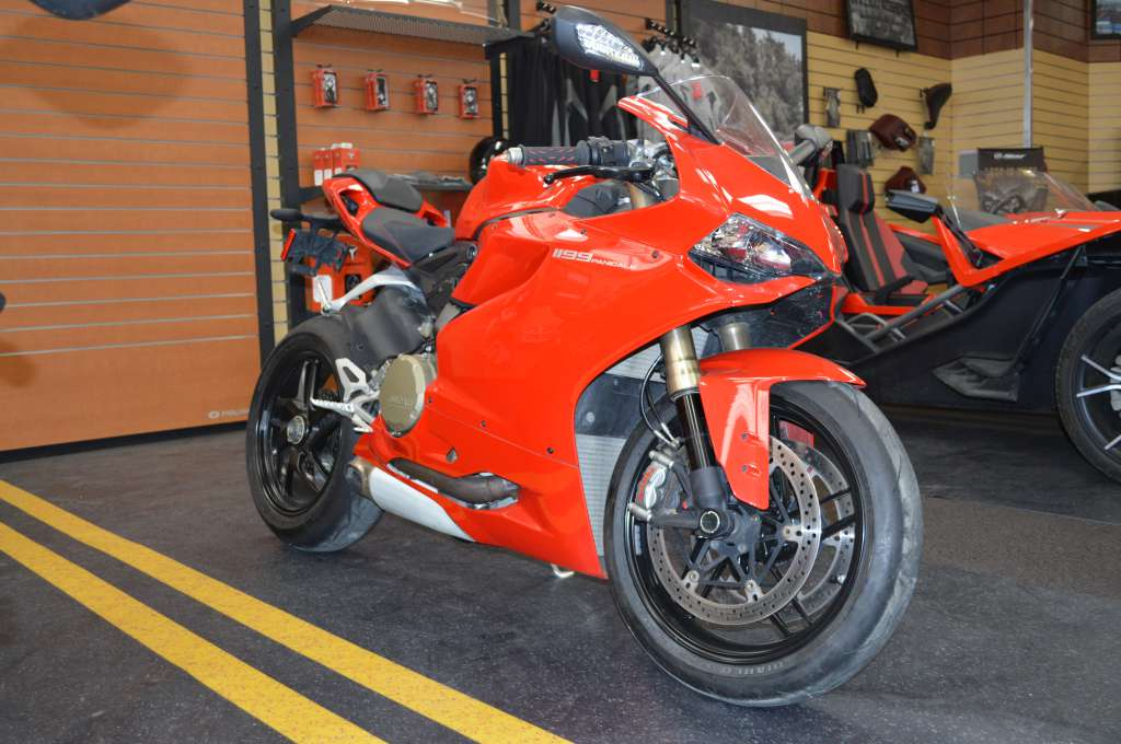 2012 Ducati 1199 Panigale, motorcycle listing