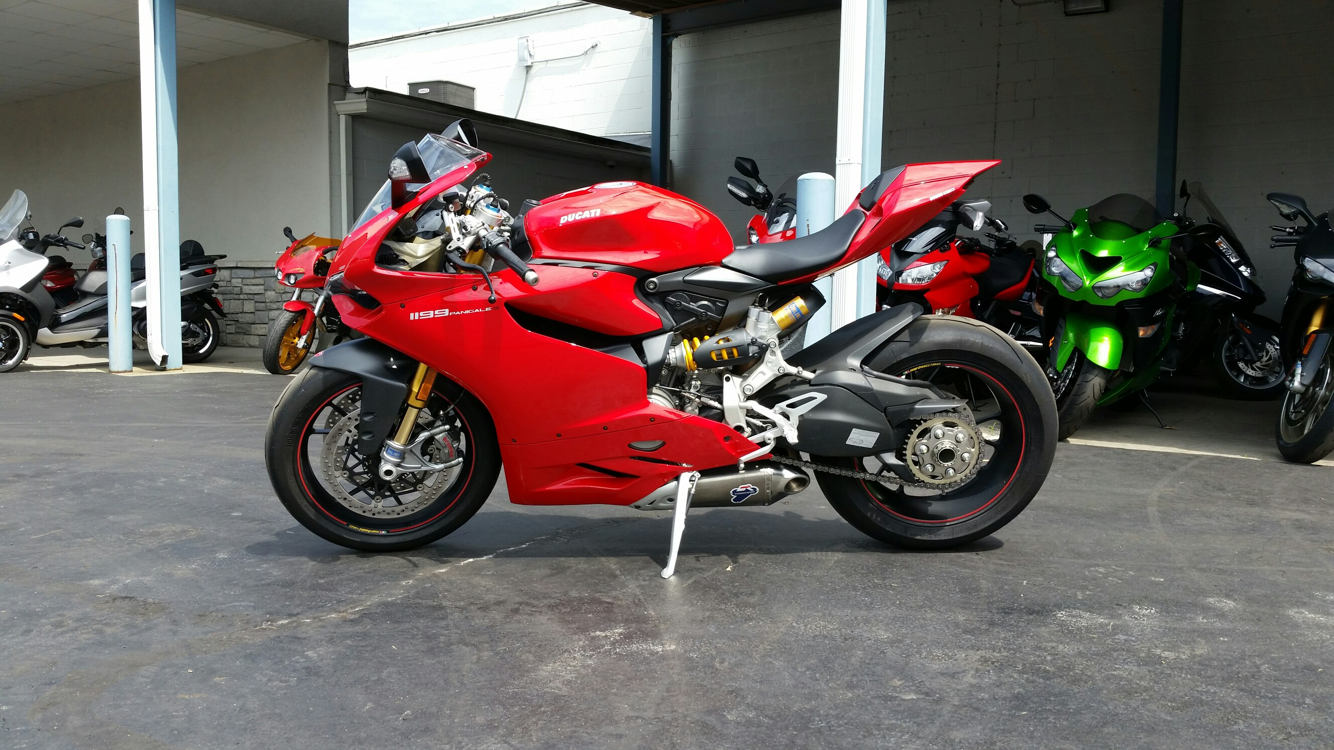 2012 Ducati 1199 S, motorcycle listing