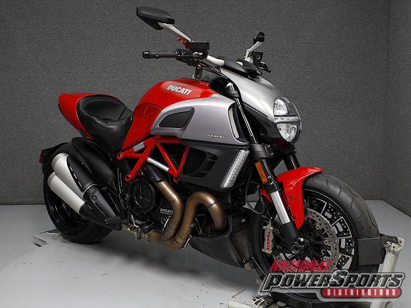 2012 Ducati DIAVEL W/ABS & DTC, motorcycle listing