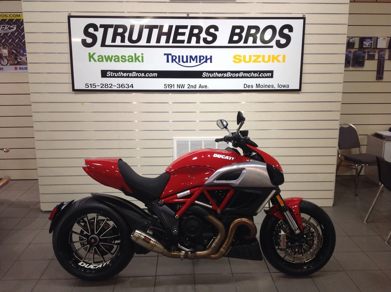 2012 Ducati Diavel, motorcycle listing