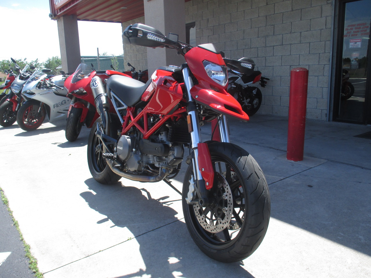 2012 Ducati HYPERMOTARD 796, motorcycle listing