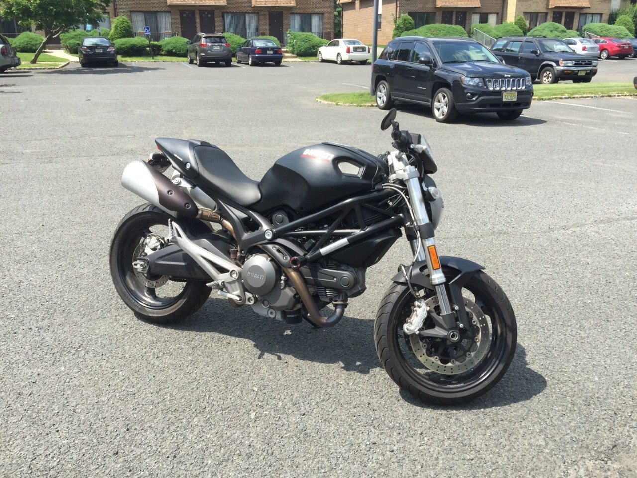 2012 Ducati Monster 696, motorcycle listing