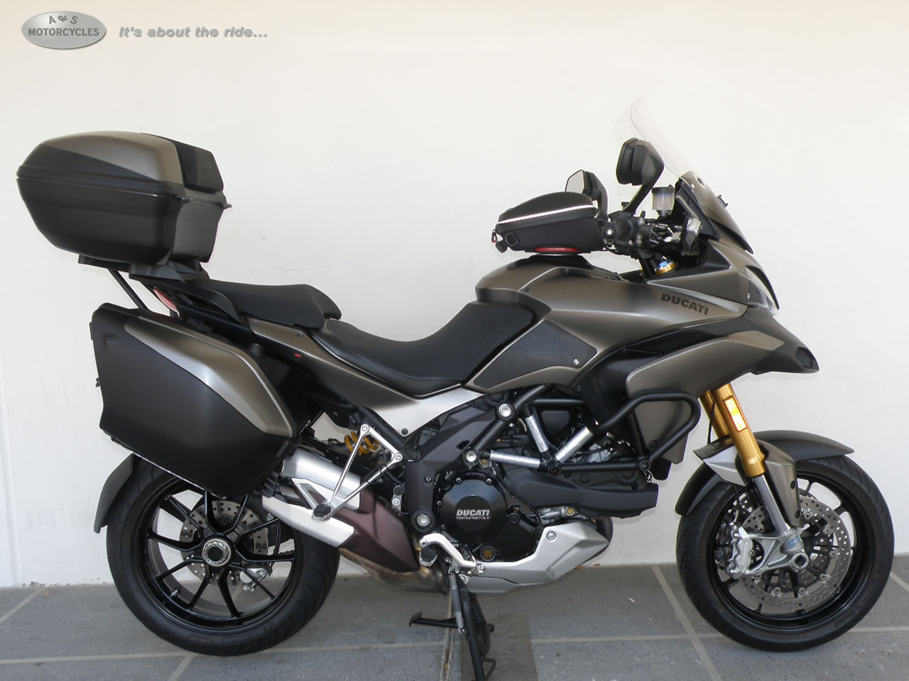 2012 Ducati Multistrada 1200S Touring, motorcycle listing