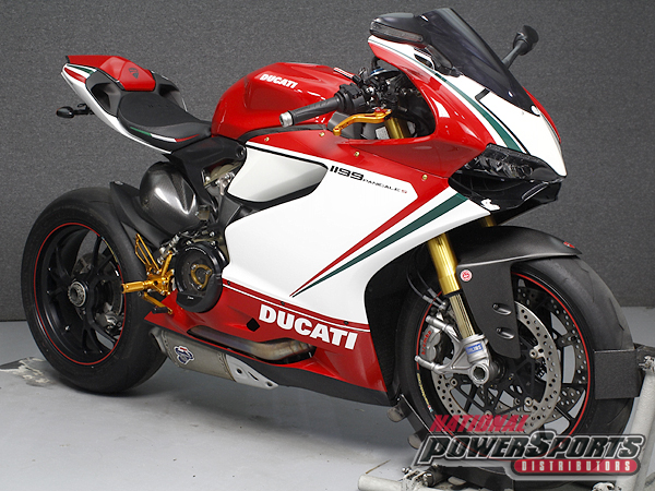 2012 Ducati PANIGALE 1199S TRICOLORE W/ABS & DTC, motorcycle listing