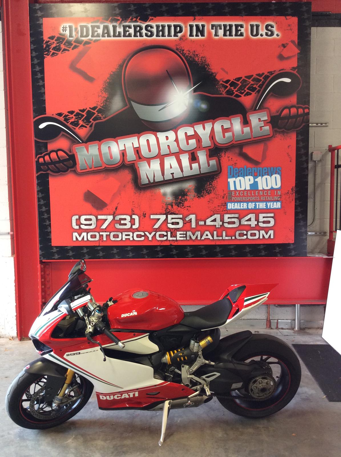 2012 Ducati PANIGALE 1199S Tricolore ABS, motorcycle listing