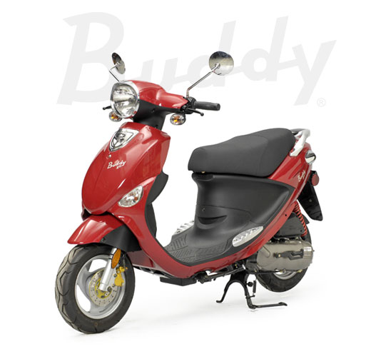 2012 Genuine Scooter Company BUDDY 125, motorcycle listing