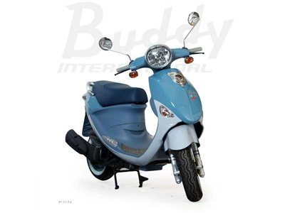 2012 Genuine Scooter Company Buddy International Saint-Tropez (150 cc)