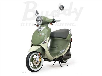 2012 Genuine Scooter Company Buddy Lil International Italia (50 cc)