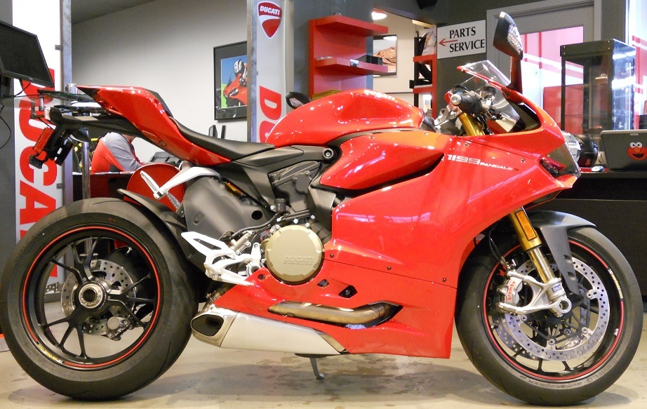 2013 Ducati 1199 Panigale S ABS, motorcycle listing