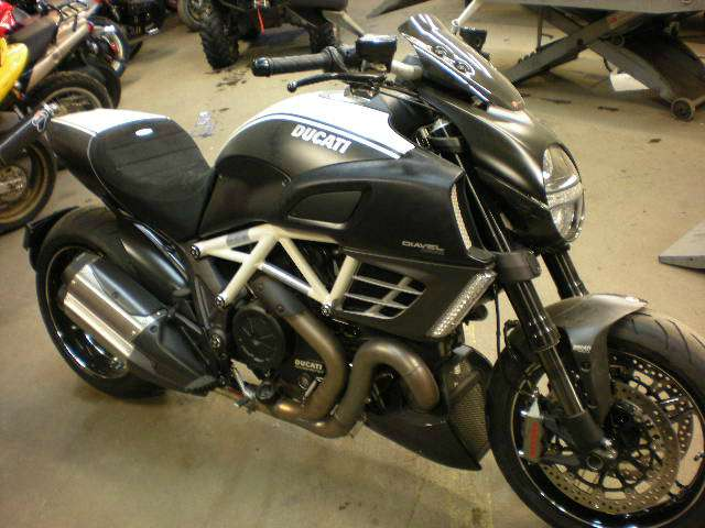 2013 Ducati Diavel AMG, motorcycle listing