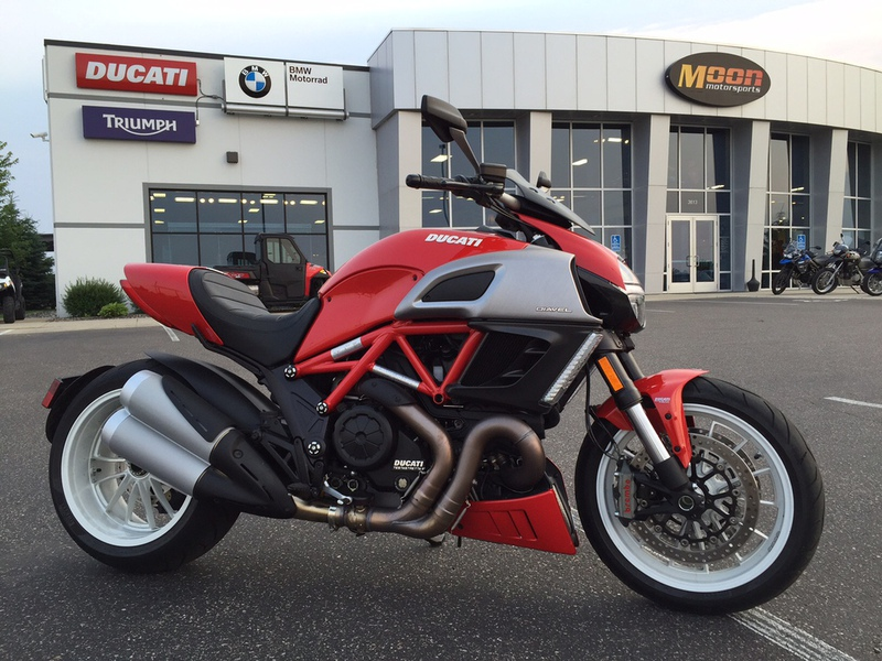 2013 Ducati Diavel, motorcycle listing