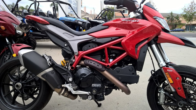 2013 Ducati HyperMotard, motorcycle listing
