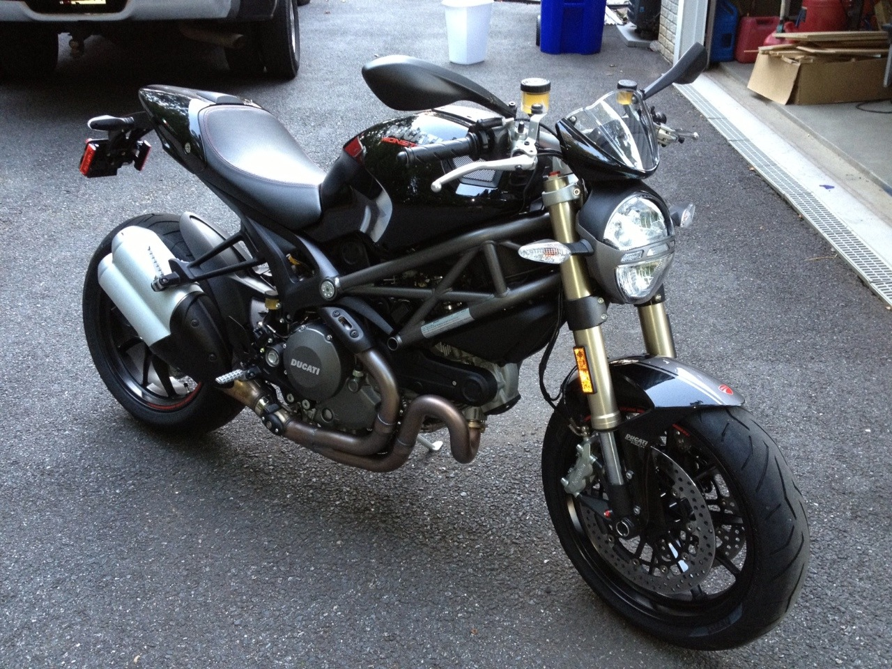 2013 Ducati Monster 1100 EVO, motorcycle listing