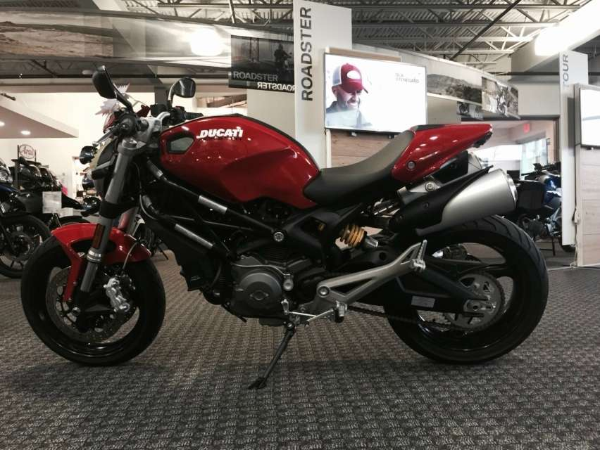 2013 Ducati Monster 696, motorcycle listing