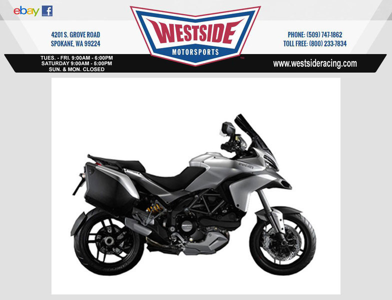 2013 Ducati Multistrada 1200 S Touring, motorcycle listing