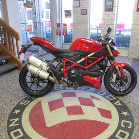 2013 Ducati Streetfighter 848, motorcycle listing