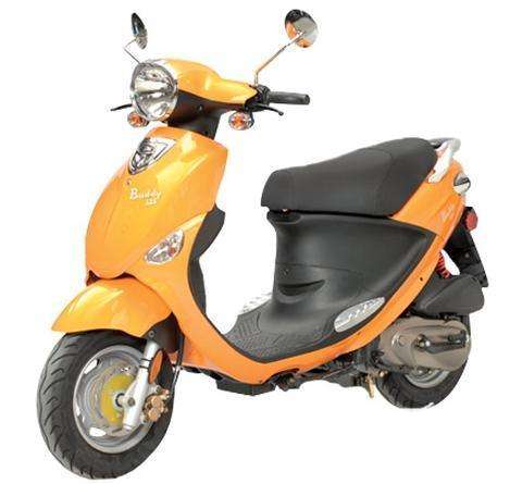 2013 Genuine Scooter BUDDY 125, motorcycle listing