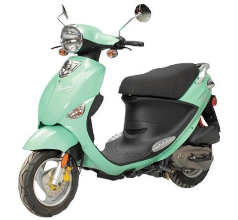 2013 Genuine Scooter BUDDY 50, motorcycle listing