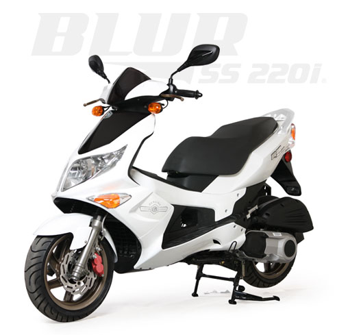 2013 Genuine Scooter Company BLUR 220i, motorcycle listing