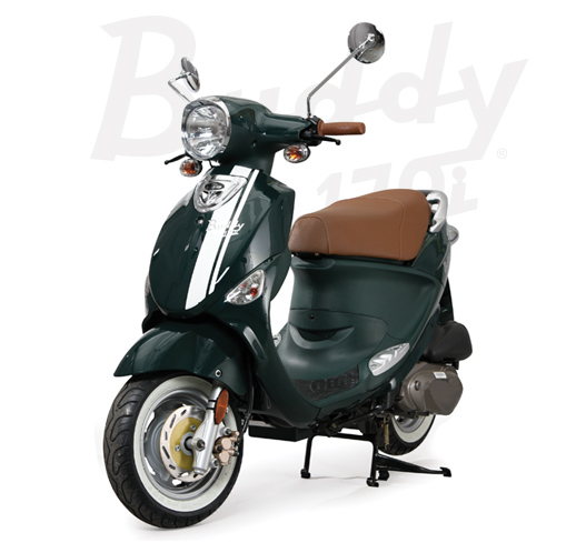 2013 Genuine Scooter Company Buddy 170i, motorcycle listing