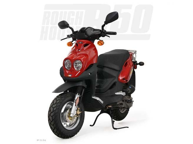 2013 Genuine Scooter Company Roughhouse R50 (50 cc), motorcycle listing