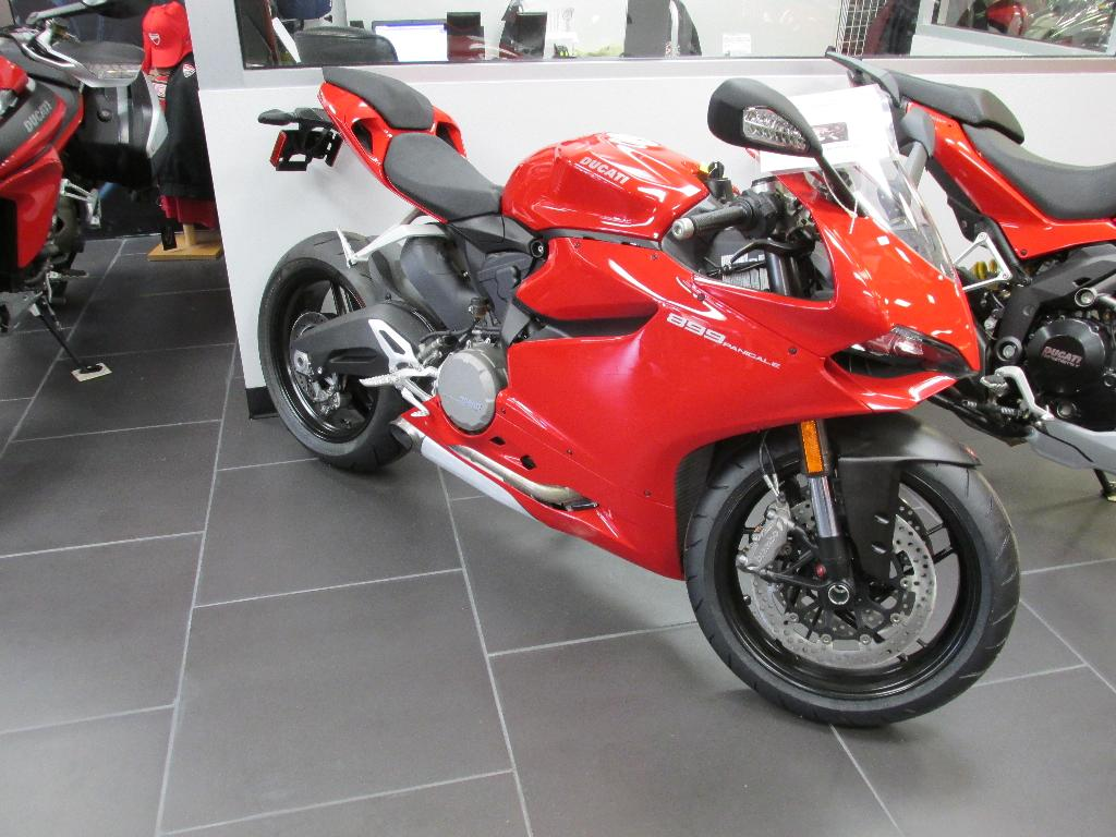 2014 Ducati 899 Panigale, motorcycle listing