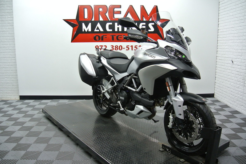 2014 Ducati Multistrada 1200 S Touring *Only 6 Miles, motorcycle listing