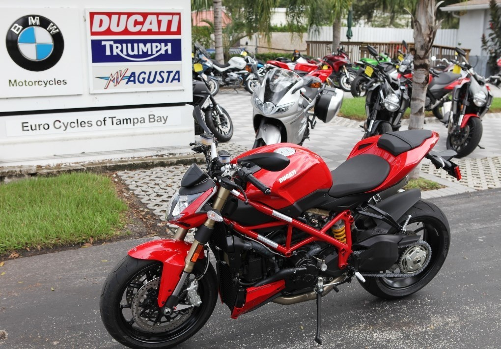 2014 Ducati STREETFIGHTER DEMO 848, motorcycle listing
