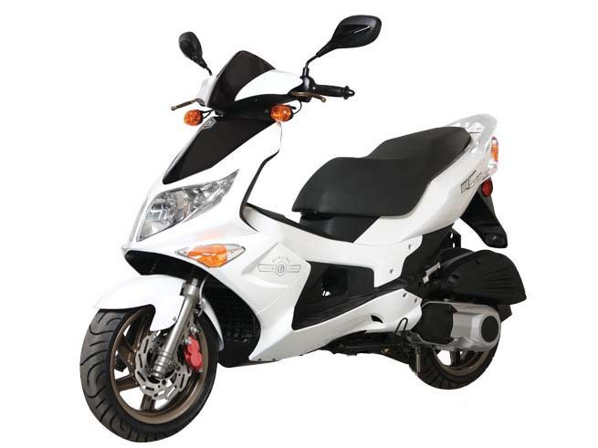 2014 Genuine Scooter Blur 220i, motorcycle listing