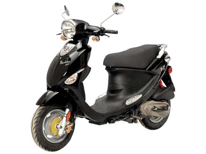 2014 Genuine Scooter Buddy 125, motorcycle listing