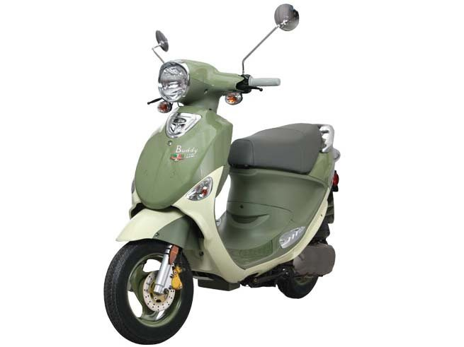 2014 Genuine Scooter Company Buddy 170i, motorcycle listing
