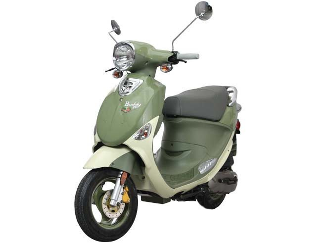 2014 Genuine Scooter Company Buddy 50 (Little Internationals)