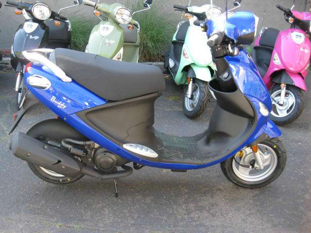 2014 Genuine Scooter Company Buddy 50, motorcycle listing