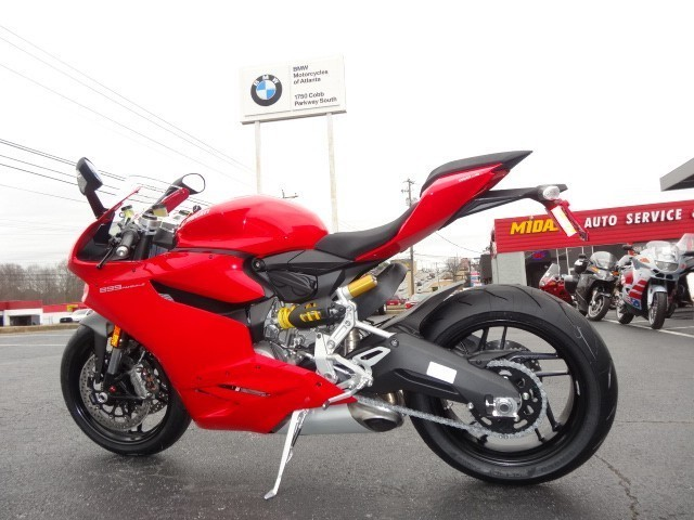 2015 Ducati 899 Panigale, motorcycle listing