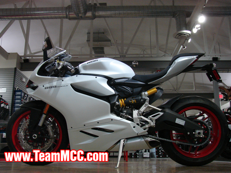 2015 Ducati 899 Panigale Demo, motorcycle listing