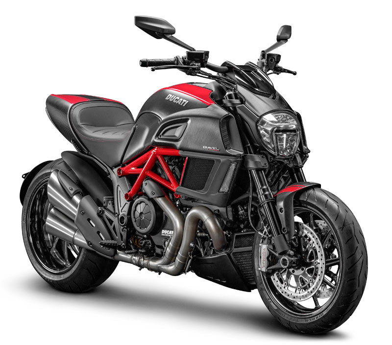 2015 Ducati Diavel carbon red, motorcycle listing