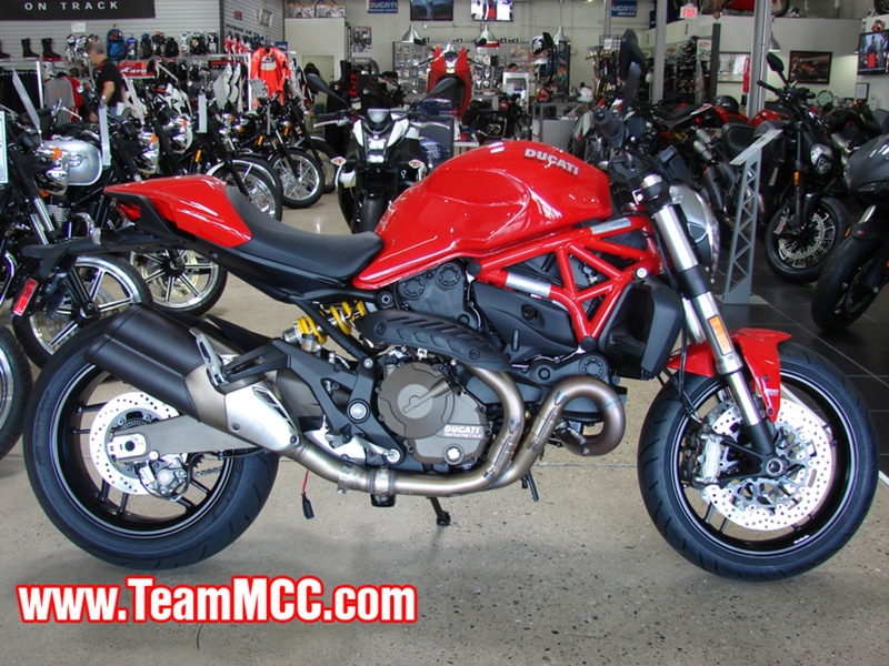 2015 Ducati Monster 821 Red, motorcycle listing