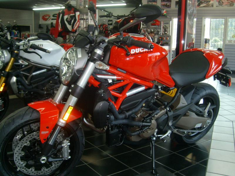 2015 Ducati Monster, motorcycle listing